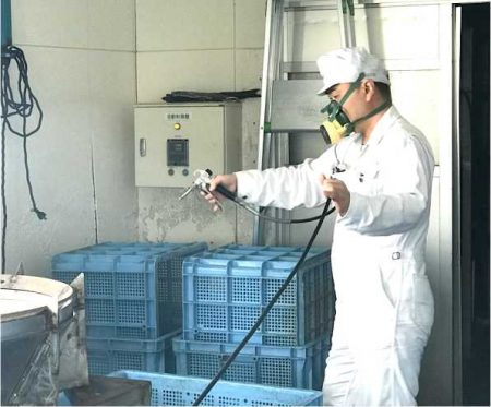 食品工場 防虫施工