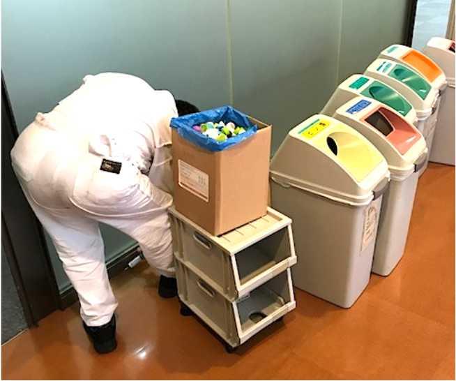 ベイト剤処理によるアリ駆除施工