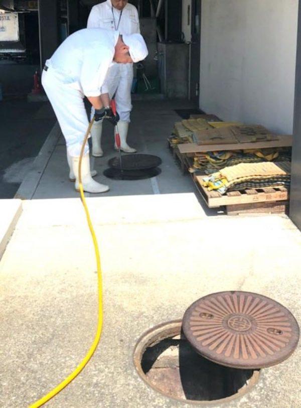 某国際空港施設  防虫駆除施工サムネイル