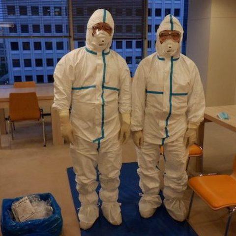 某食品会社オフィス  臨時殺菌消毒施工サムネイル